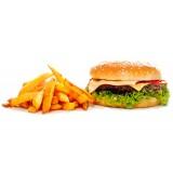 Бургер фирменный с говядиной, , 13,99 руб., Бургер фирменный с говядиной, , Закуски