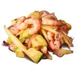 Шримп-Авокадо Салат, , 7,89 руб., Салат с креветками и авокадо, , Салаты