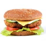 Бургер овощной с мультизлаковой булочкой, , 7,19 руб., Бургер овощной с мультизлаковой булочкой, , Бургеры