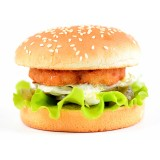 Бургер с курицей, , 4,59 руб., Бургер с курицей, , Бургеры